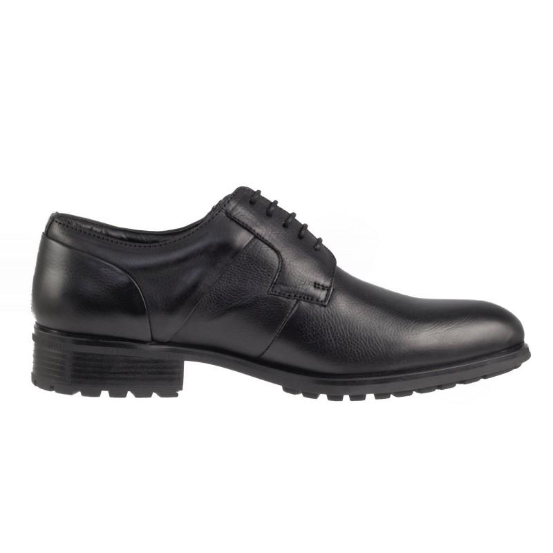 Мъжки обувки от естествена кожа Salamander черни