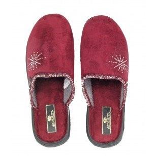 Дамски домашни чехли Spesita бордо