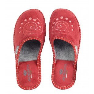 Дамски домашни чехли Spesita червени
