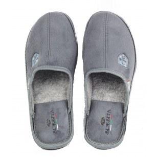 Мъжки домашни чехли Spesita сиви