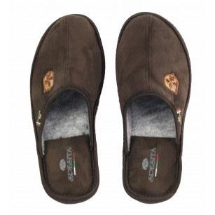 Мъжки домашни чехли Spesita кафяви