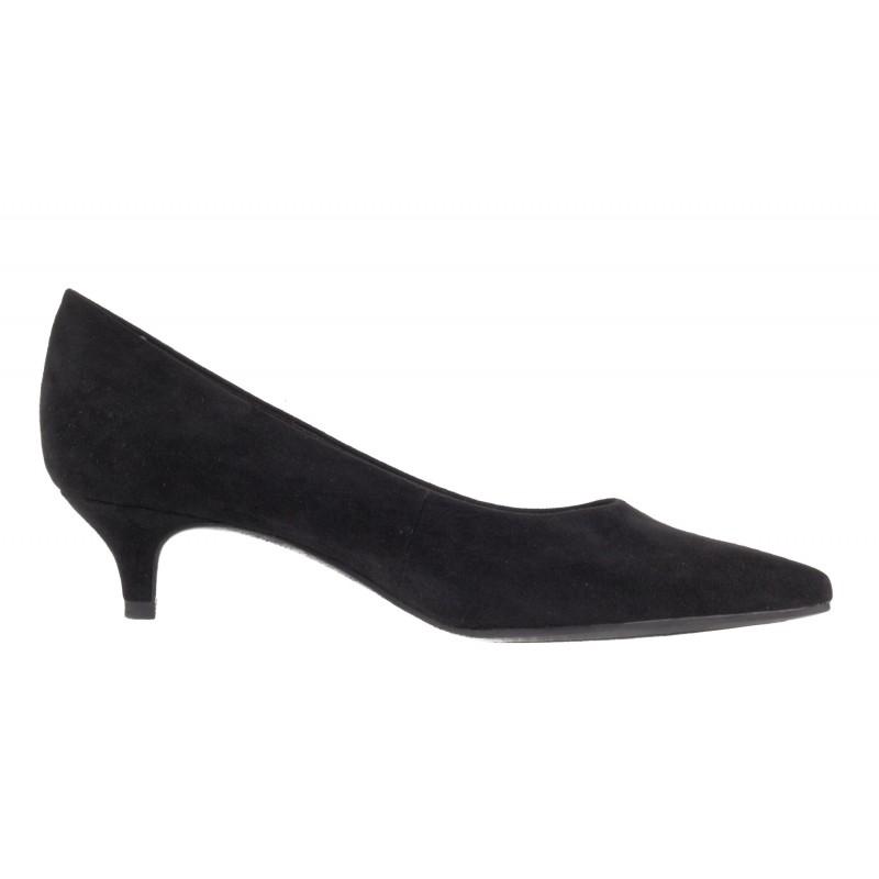 Дамски обувки на ток Tamaris черни