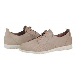 Дамски спортни обувки Tamaris естествена кожа бледо розови