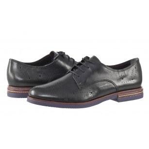 Дамски обувки от естествена кожа Tamaris мемори пяна