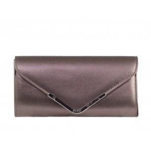 Дамска чанта клъч Tamaris металик
