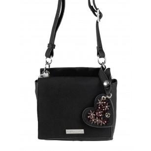 Дамска малка чанта Tamaris черна