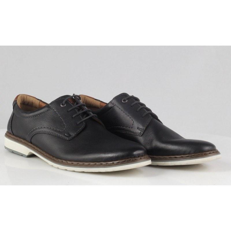 Мъжки обувки от естествена кожа Ara черни