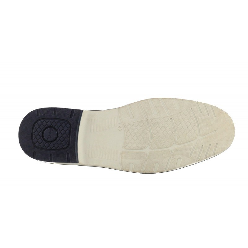 Мъжки обувки от естествена кожа Ara бежови