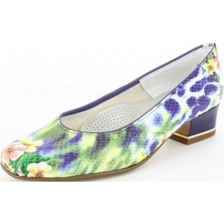 Дамски обувки на ток Ara цветни