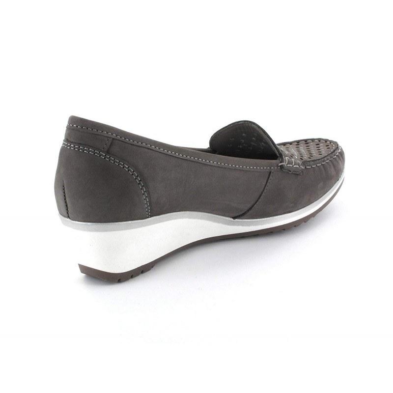 Дамски ежедневни обувки на платформа Ara сиви
