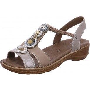 Дамски анатомични сандали Ara бежов