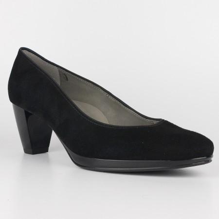 Дамски обувки на ток Ara естествен велур