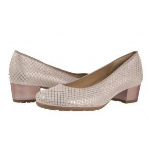 Дамски елегантни обувки Ara естествена кожа розови ширина К