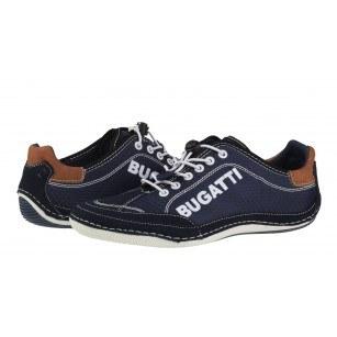 Мъжки спортни обувки с връзки Bugatti® Canario тъмно сини