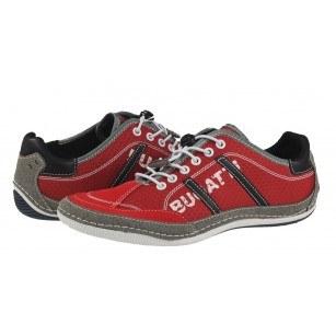 Мъжки спортни обувки с връзки Bugatti® Canario червени