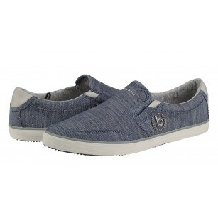 Мъжки спортни обувки без връзки Bugatti® ALFA сини