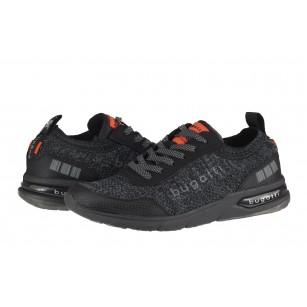 Мъжки спортни обувки с връзки Bugatti® Numbis черни