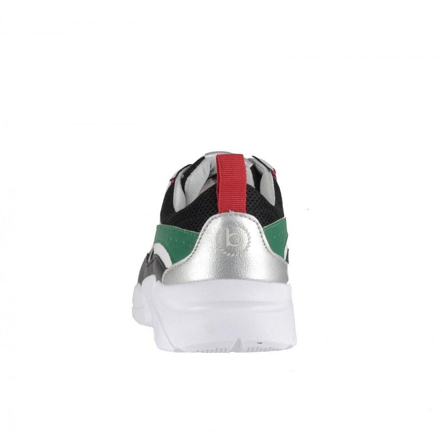 7c17c2e16bb ... Дамски спортни обувки с връзки Bugatti Shiggy черни ...