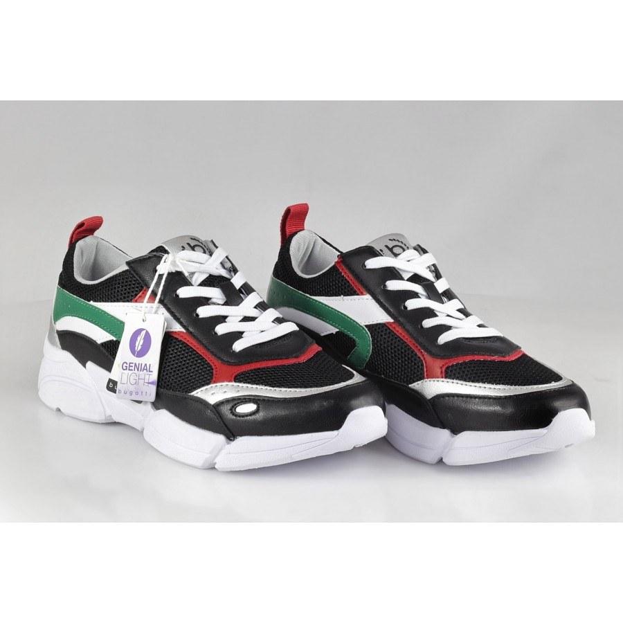 02aa724ddd4 Дамски спортни обувки с връзки Bugatti Shiggy черни ...