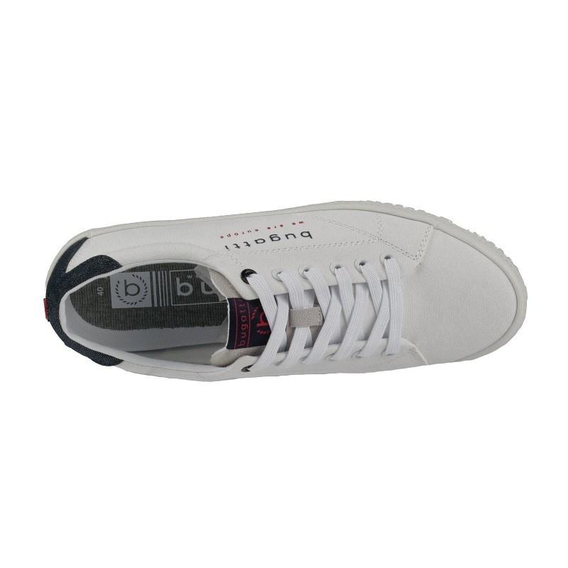 Мъжки спортни обувки с връзки Bugatti® ALBA бели