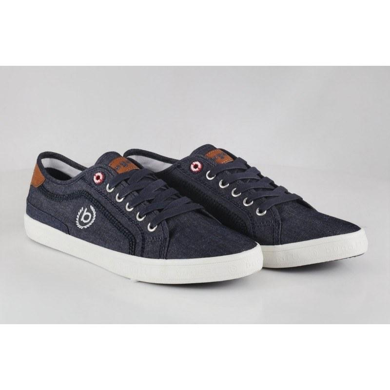 Мъжки спортни обувки с връзки Bugatti® тъмно сини