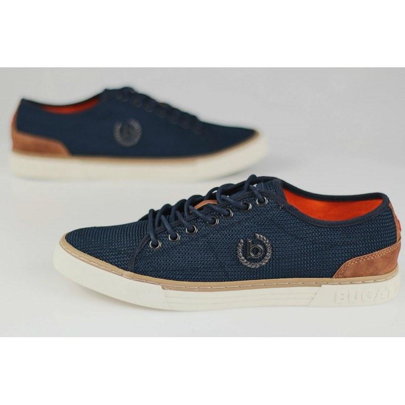 Мъжки спортни обувки с връзки Bugatti® Drome сини