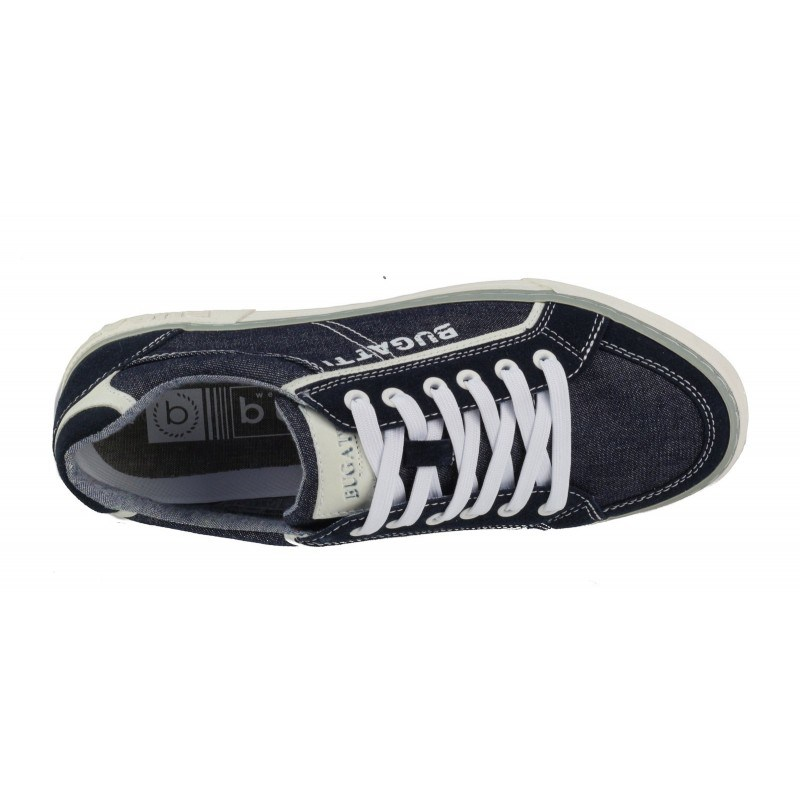 Мъжки спортни обувки с връзки Bugatti® Drome тъмно сини