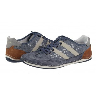 Мъжки спортни обувки с връзки Bugatti® Kovak сини