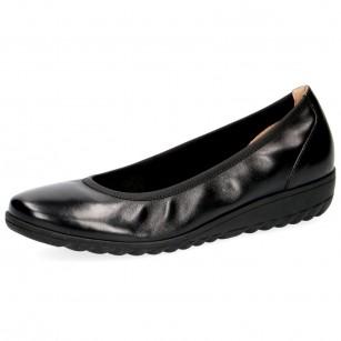 Дамски обувки Caprice естествена кожа черни