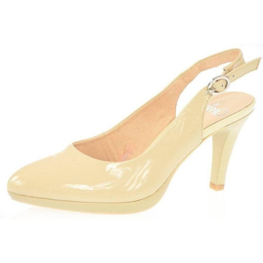 Дамски сандали на ток Caprice лачени