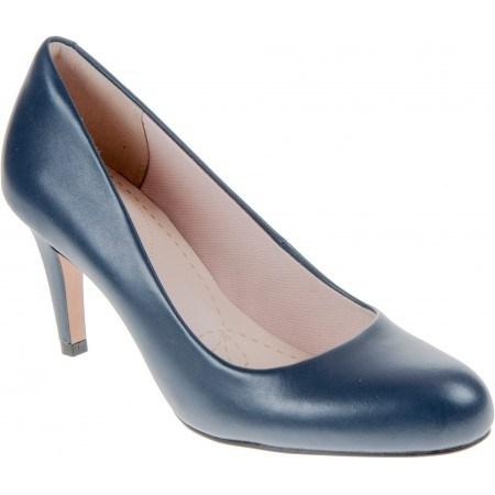 Дамски обувки на ток Clarks Carlita Cove сини