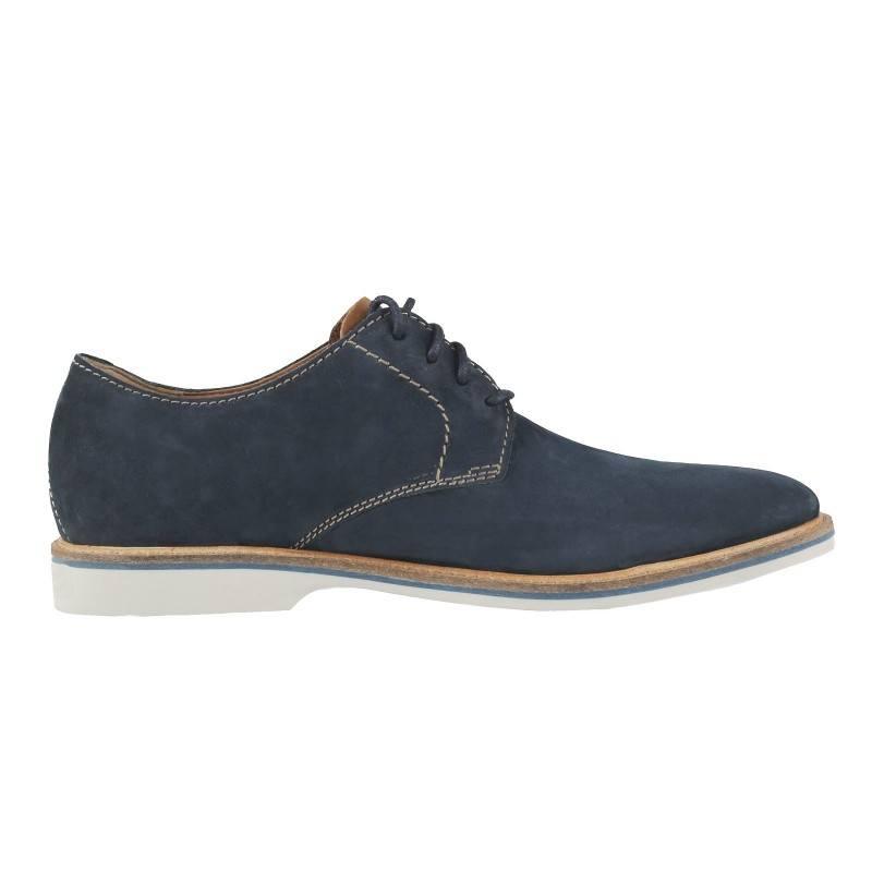 Мъжки обувки от естествена кожа Clarks ATTICUL LACE сини