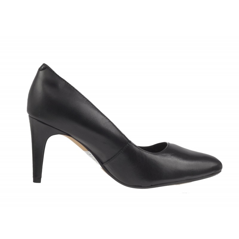 Елегантни дамски обувки на висок ток Clarks Laina Rae черни