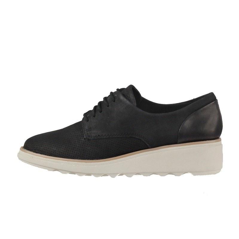 Дамски обувки на платформа Clarks Sharon Crystal черни