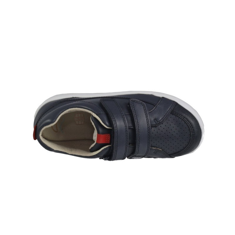 Детски спортни обувки с лепки Clarks Emery Walk Kid сини