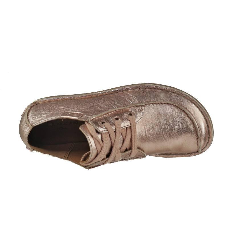 Дамски кожени обувки Clarks розов металик  Funny Dream ROSE