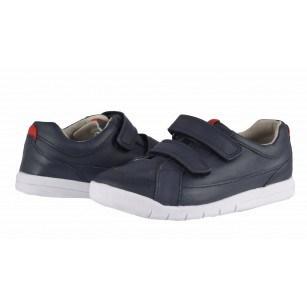 Детски обувки с лепки Clarks Emery Walk сини 24/27