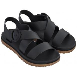 Дамски сандали Zaxy STREET SAND PLAT FEM черни