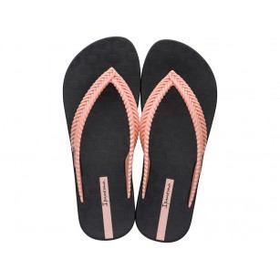 Дамски чехли Ipanema NATURE FEM черни/розови