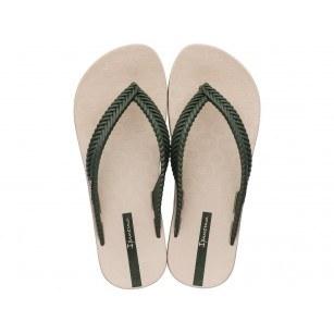 Дамски чехли Ipanema NATURE FEM бежови/зелени