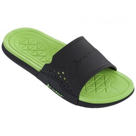 Мъжки чехли RIDER INFINITY II SLIDE AD черни/зелени