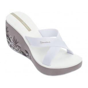 Дамски чехли на платформа Ipanema LIPSTICK STRAPS V FEM бели