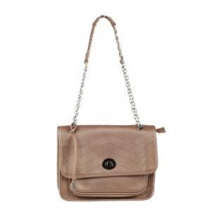 Дамска малка чанта Marina Galanti® Firenze бронз