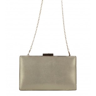 Дамска клъч чанта Marina Galanti® светло златиста