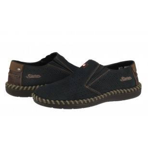 Мъжки ежедневни обувки без връзки естествена кожа Rieker B2487-14