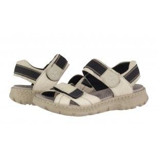 Дамски анатомични сандали Rieker бели 67853-60