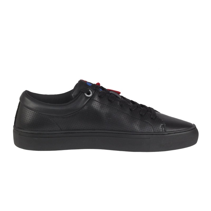Мъжки спортни обувки S.Oliver естествена кожа черни