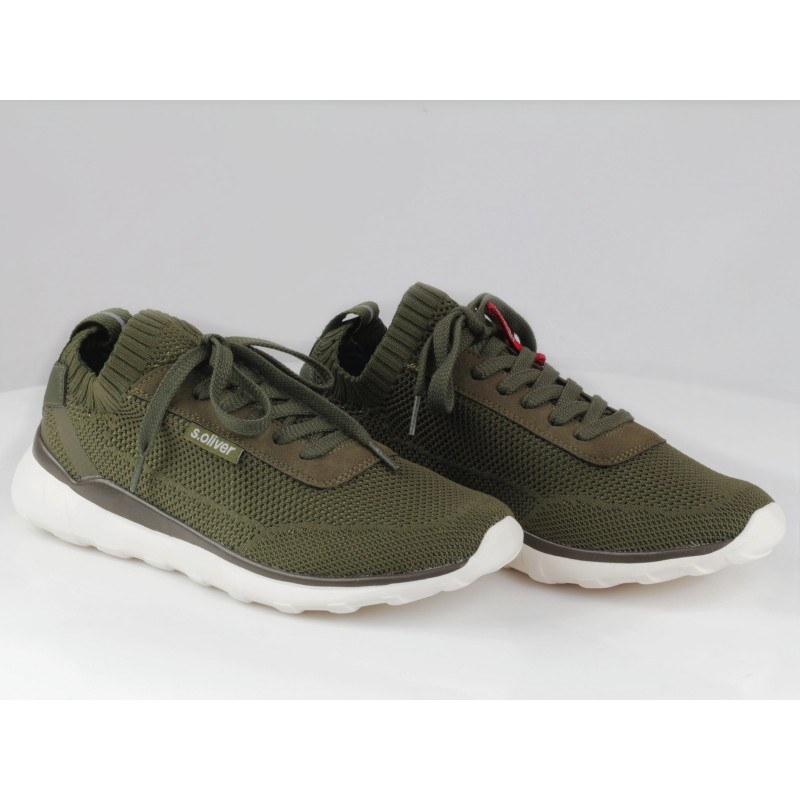 Мъжки спортни обувки с връзки S.Oliver зелени