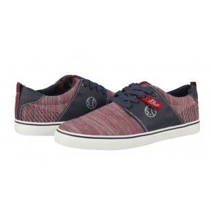 Мъжки спортни обувки S.Oliver червени/сини