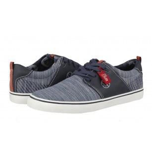 Мъжки спортни обувки с връзки S.Oliver сини